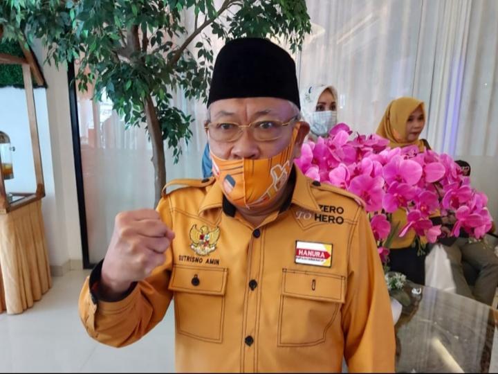Aklamasi, Sutrisno Amin Kembali Pimpin Hanura Lubuklinggau Periode 2021-2026