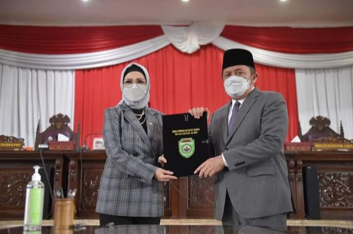 DPRD Provinsi Sumsel Setujui Raperda Perubahan APBD Tahun Anggaran 2021