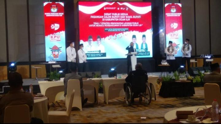 Debat Publik Kedua, Panca Kritik Kunker Bupati OI ke Luar Negeri Nihil Hasil