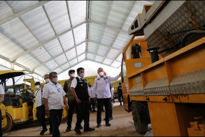 Dua Tahun Lebih Kepemimpinan HDMY Infrastruktur Sumsel Mendekati 100 Persen Mantap
