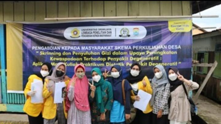 Edukasi Gizi dan Kesehatan bersama anak-anak Kampung Bingen 13 Ulu, Palembang