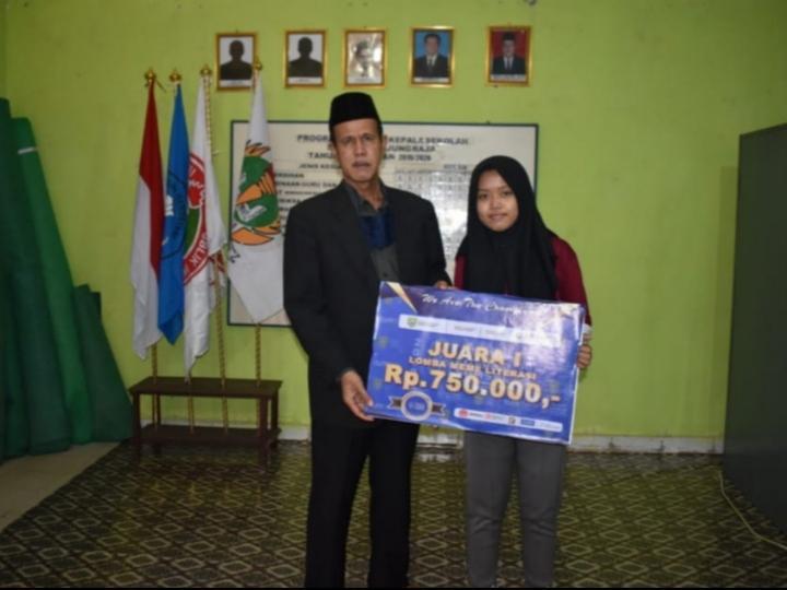 Membanggakan, SMK PGRI Tanjung Raja Ogan Ilir Raih Juara 1 Festival Literasi Sumsel 2020