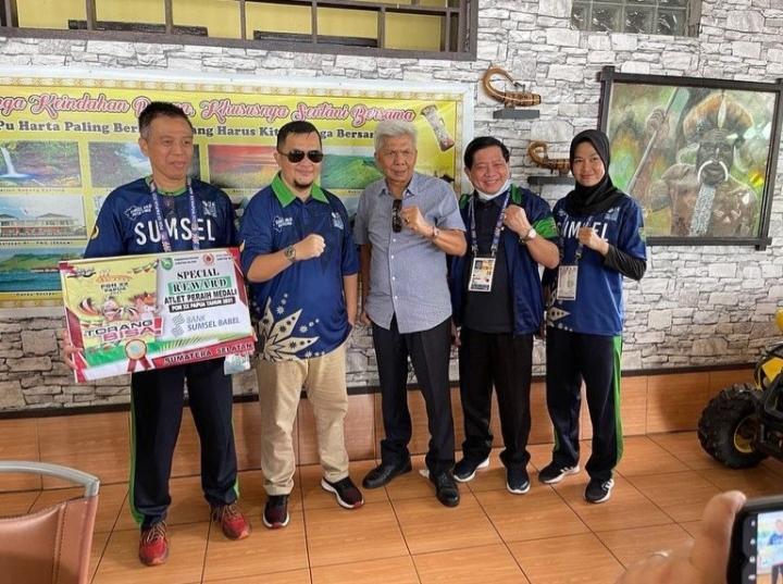 Pemprov Support Penuh Atlet Sumsel Berlaga di PON XX Papua