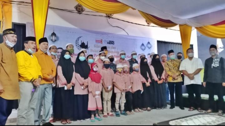 Pererat Silaturahmi, DPD Hanura Sumsel Gelar Buka Bersama dan Beri Santunan Anak Yatim