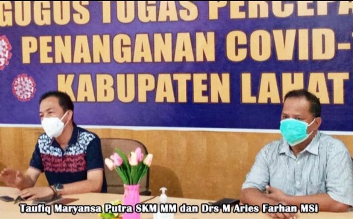 Plh Kadinkes Kabupaten Lahat Sebut Sekda Meninggal Bukan Karena Terpapar Covid-19